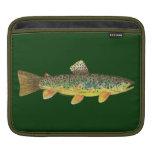 Pesca de la trucha de Brown Fundas Para iPads