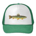 Pesca de la trucha de Brown Gorras