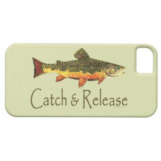 Pesca de la trucha de la captura y del lanzamiento iPhone 5 protector