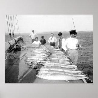 pesca de los 1890s posters