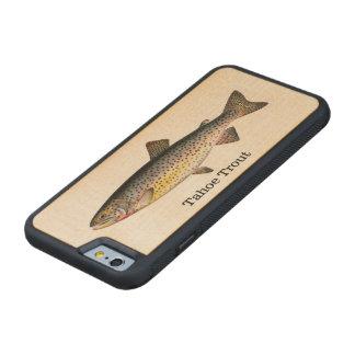 Pesca de los pescados de la trucha de Tahoe Funda De iPhone 6 Bumper Arce