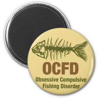 Pesca de OCFD OCD Imán Redondo 5 Cm