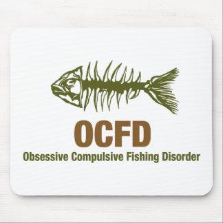 Pesca de OCFD OCD Tapete De Ratón