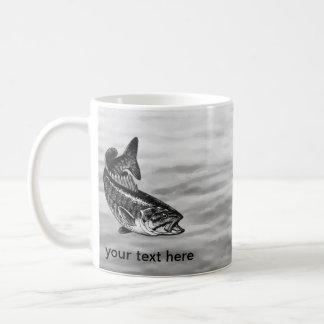 Pesca de perca canadiense taza