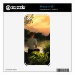 Pesca de pieles solas del iPhone 4/4S Skins Para eliPhone 4