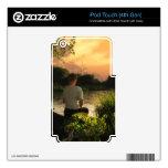 Pesca de pieles solas del tacto de iPod Calcomanía Para iPod Touch 4G