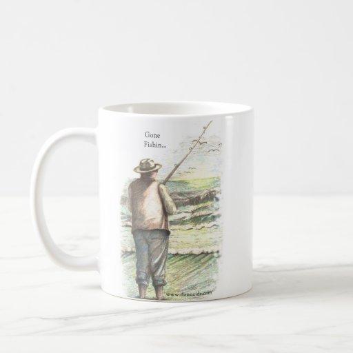 Pesca de resaca ida… Taza de café