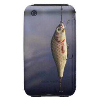pesca de señuelo delante del agua carcasa though para iPhone 3