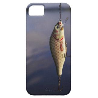 pesca de señuelo delante del agua funda para iPhone SE/5/5s