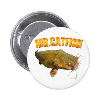 Pesca de Sr. Catfish Chapa Redonda 5 Cm