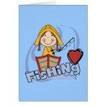 Pesca del amor - camisetas y regalos del chica felicitacion