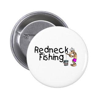 Pesca del campesino sureño pin redondo 5 cm