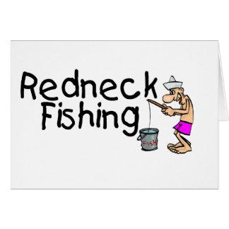 Pesca del campesino sureño tarjeta de felicitación