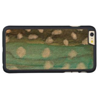 Pesca del carbón de leña de Groenlandia Funda De Arce Carved® Para iPhone 6 Plus Slim