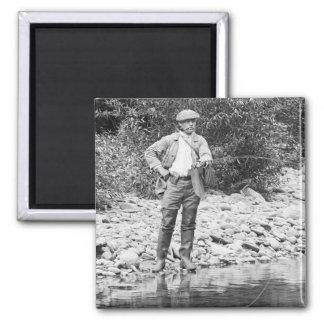 Pesca del Catskills 1890s Imanes