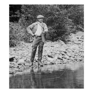 Pesca del Catskills 1890s Impresiones