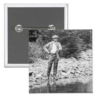 Pesca del Catskills 1890s Pin