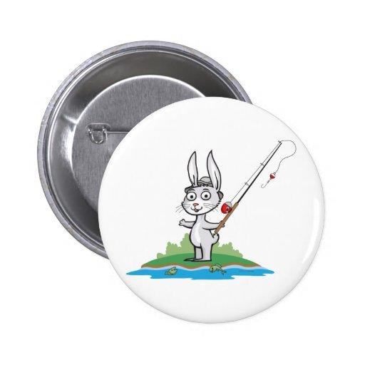 Pesca del conejito pin
