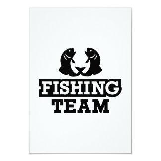 Pesca del equipo anuncios personalizados