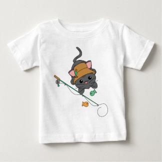 Pesca del gatito tshirt