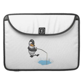 Pesca del hielo funda para macbook pro