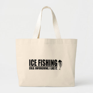 Pesca del hielo tengo gusto de ella bolsas
