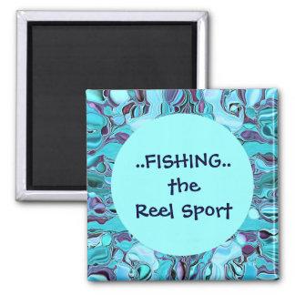 pesca del imán del deporte del carrete