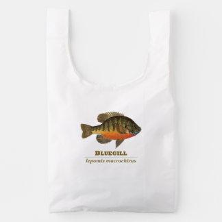 Pesca del Lepomis macrochirus Bolsa Reutilizable