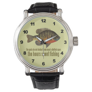 Pesca del Lepomis macrochirus/de la brema Relojes