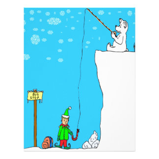 pesca del oso polar x77 (366) para el dibujo membrete a diseño