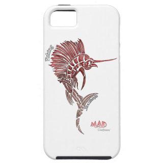 Pesca del pez volador rosado Phonecase iPhone 5 Case-Mate Cárcasa
