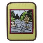 Pesca del río fundas para iPads