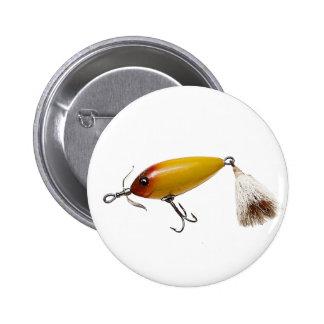 Pesca del señuelo 1 pin redondo 5 cm