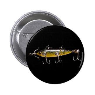 Pesca del señuelo 2 pin redondo 5 cm