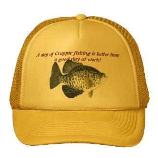 Pesca del tipo de pez gorro de camionero