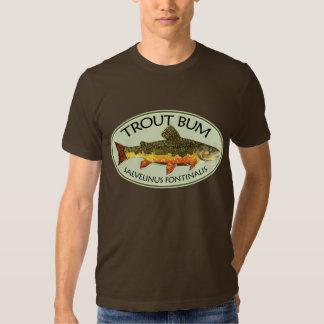 Pesca del vago de la trucha camisas