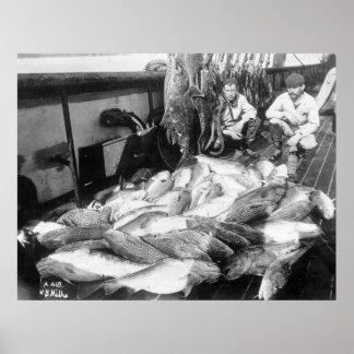 Pesca del vintage, 1900s tempranos posters