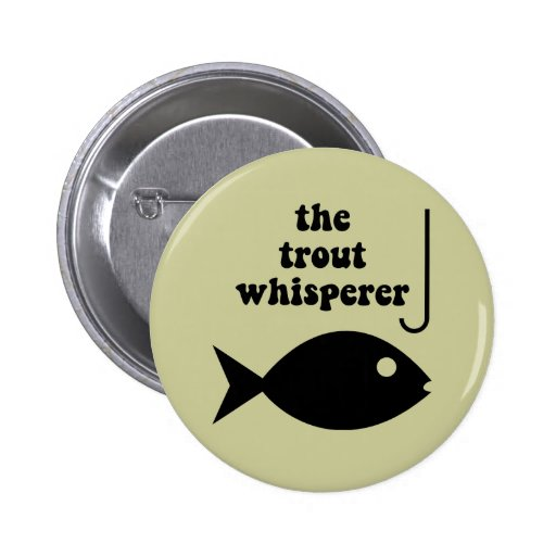 pesca del whisperer de la trucha pin
