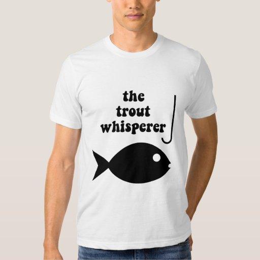 pesca del whisperer de la trucha poleras