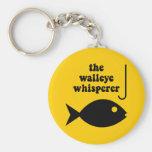 pesca del whisperer de los leucomas llavero personalizado