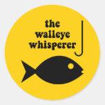 pesca del whisperer de los leucomas etiqueta redonda