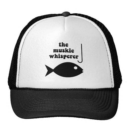 pesca del whisperer del muskie gorra