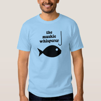 pesca del whisperer del muskie playeras