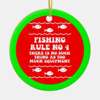 Pesca divertida adorno de navidad