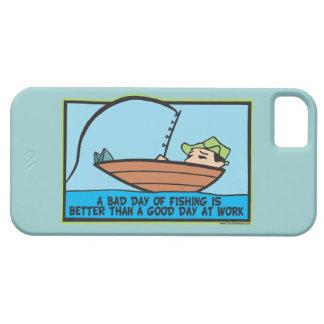 Pesca divertida iPhone 5 cárcasas