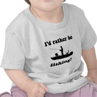 Pesca divertida camisetas