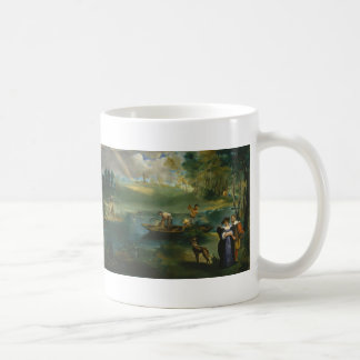Pesca - Édouard Manet Taza De Café