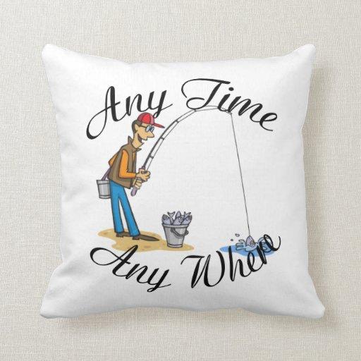 Pesca en cualquier momento de la almohada de MoJo