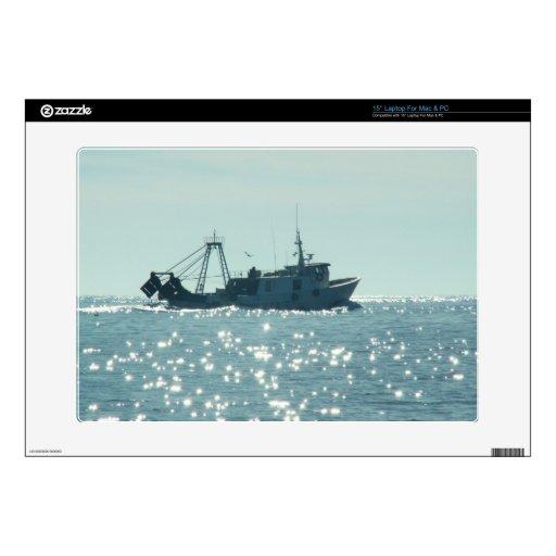 Pesca en el mar chispeante de A Portátil 38,1cm Skins