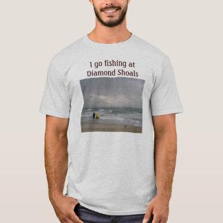 Pesca en la camiseta de los bajíos del diamante